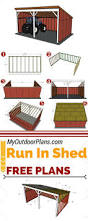 Shed Anchor Kit Menards by Pole Building Open Shed Project Plan 85946 Homesteading