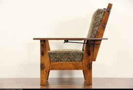 Morris Chair Recliner Mechanism by Arts U0026 Crafts Mission Oak Antique 1905 Morris Chair Or Recliner