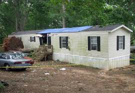 The Movile Home In Ellenboro NC Where 18 Year Old Twins Leticia And Celia Arzola Died On May 11 2011