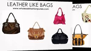 wholesale fashion handbags and purses youtube