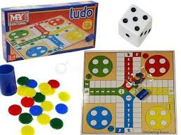Traditional Ludo Board Game Learn Logical Skills Classic Family Kids Fun Party
