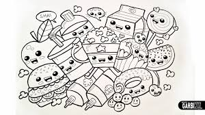14 343 Coloring Pages Kawaii Rallytv Org Bright Sushi
