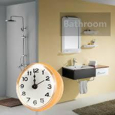 baduhr badezimmeruhr mit gummi saugnapf küchenuhr wasserdicht