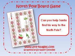 North Pole Board Game