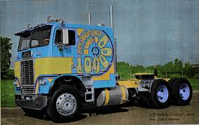 White 100000 Colorized | Vintage Trucks, Biggest Truck And Rigs