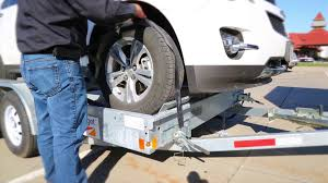 Budget Car Carrier Loading And Unloading Instructions - YouTube