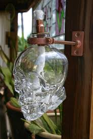 Citronella Oil Lamps Torches by Crystal Head Vodka Lamp Google Search Dungeon Decor Geeky