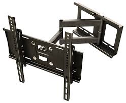 ricoo r23 support tv mural orientable inclinable meuble de