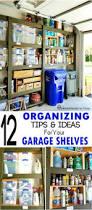 Cheap Garage Cabinets Diy by Overhead Garage Storage Plans Moregarage Shelving Ideas 2 4