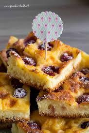 kirsch pudding kuchen und mini schoko guglhupfe