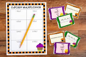 Halloween Brain Teasers Math by 100 Halloween Pumpkin Holiday Multiplication Fun Math Practice