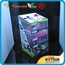 Retailers General Merchandise Acrylic Mobile Phone Accessory Organizer Charger Display Stands Factory Wholesale