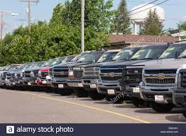 100 Used Trucks Dealership Parked At Car USA Stock Photo 72881731 Alamy