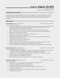 Nurse Resume Builder Free Nursing Templates
