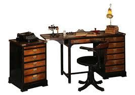 bureau de clerc acheter votre secrétaire de clerc de notaire bicolore avec tiroir