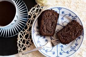 saftiger rotweinkuchen mit schokolade kleidermädchen