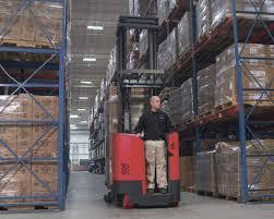 100 Raymond Reach Truck ForeAft Stance Brownlie Design Inc