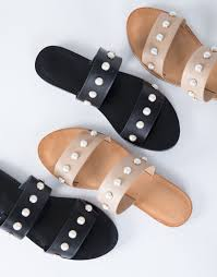 would love these simple sandals with just a little extra