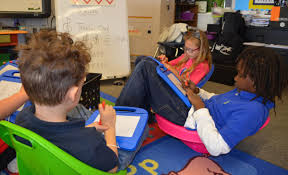 Seating Options Help Kids Focus In The Classroom   Local News ... Debbieyoung2nd On Twitter Our Classroom Student Of The Week One What Would Google Do Newport Teacher Revamps Seating With Fxible Seating Nita Times Peace Out Handpainted Teacher Reading Rocking Chair Etsy 3700 Series Cantilever Chairs Schoolsin Buy Postura Plus Classroom Tts Options For Students Who Struggle Sitting Still Sensory Chair A Sensory For Austic Children Titan Navy Stack 18in Student 5 Real Things To Do When Is Failing Tame Desk Replaced By Ikea Couches Beanbags And