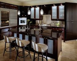 gorgeous kitchen decorating ideas with frosted glass door cabinets