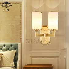 luxury ivory shade funky wall sconces