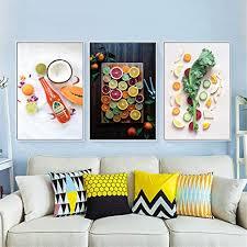 food poster nordic modern canvas bild bilder küche esszimmer
