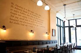 Decorating Hammered Restaurant Wall Art Inspired Interior Design Manufactured Bistro Belgian Modern Dinign Room