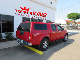 100 Frontier Truck Accessories 2014 Red Nissan Ranch Echo TopperKING TopperKING