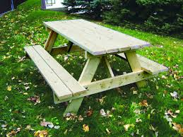 Patio Umbrella Base Menards by 6 U0027 Classic Picnic Table Kit At Menards For The Home Pinterest