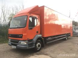 100 Used Box Trucks DAF LF55180 Box Trucks Year 2006 Price 4231 For Sale