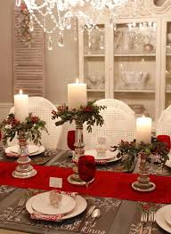 Holiday Table Decorations Ideas Dining Room Decorating For Christmas Seven Gorgeous Modern Home