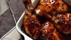 cuisiner poulet au four poulet miel soja au four recette par muffinzlover
