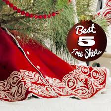 5 Best Christmas Tree Skirts Signature3 Hudsons BayRestoration HardwareSerena