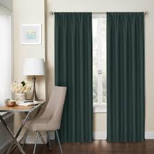 Kohls Magnetic Curtain Rods by Eclipse Thermaliner White Blackout Energy Saving Curtain Liners