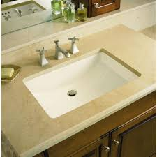 bathroom lovely picture of rectangular white ceramic undermount