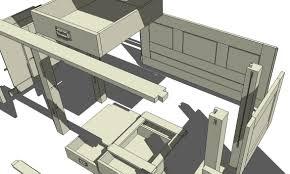 woodwork woodworking 3d modeling pdf plans
