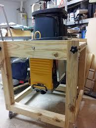 workbench flip cart for wood planer best hardware and