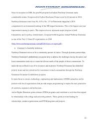 analysis of northrop grumman