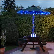 Walmart Patio Umbrellas With Solar Lights by Backyards Amazing Outdoor Garden Solar Power Powered Light