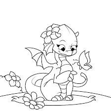 Astonishing Hard Coloring Pages Free Awesome Dragon Page For Female Kids Printable