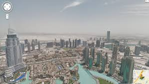 Burj Khalifa Top Floor Room by Google Street View Captures The View From The World U0027s Tallest