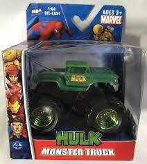 100 Hulk Monster Truck Marvel Comics HULK MONSTER TRUCK MGA Entertainment 2006 164