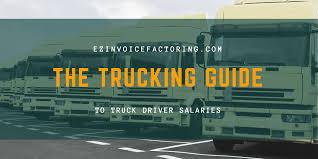 100 Truck Driver Average Salary How Much Money Do S Make EZ Invoice Factoring