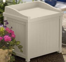Suncast 50 Gallon Deck Boxstorage Bench by Deck Storage Box Suncast 63 Gallon Resin Outdoor Patio Deck