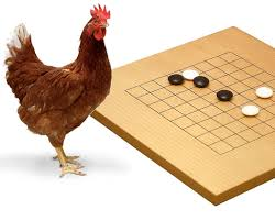 Chicken Playing 9x9 Go Nordic Academy