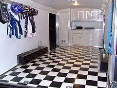 Checkerboard Vinyl Flooring For Trailers by Black U0026 White Checkered Trailer Flooring Car Motorcycle Trailer