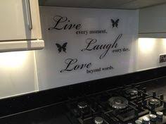 Glass Cooker Splashback With Banksy Designs 60cm Wide Any Size Available