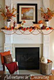 Adventures In Decorating Christmas by Adventures In Decorating Our Simple Fall Mantel