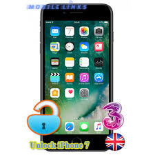 iPhone 7 Unlocking 3 Network UK in East London
