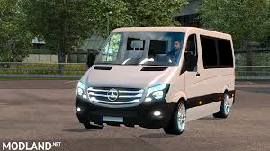 Mercedes Sprinter CDI211 2014 Mod For ETS 2